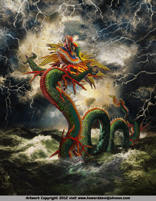 chines dragon god shinron shinlong