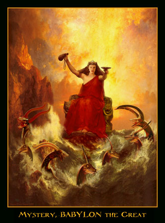demon daemon art biblical painting