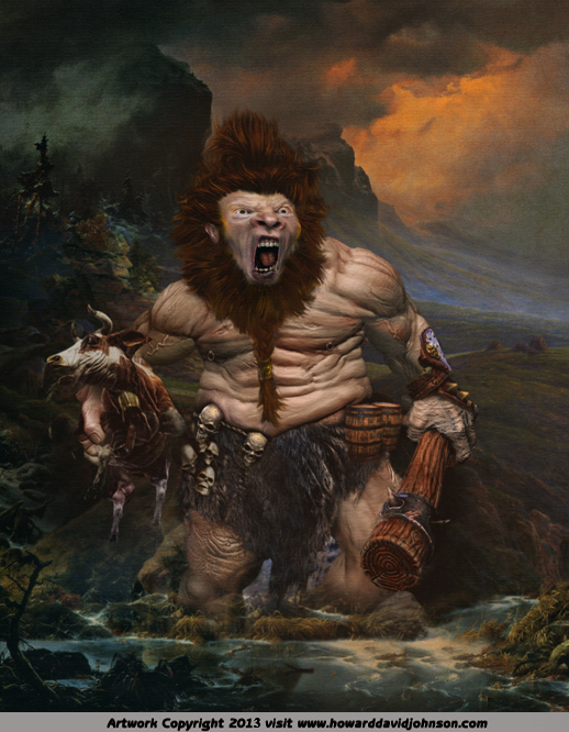 norse myth giants trolls ogers epic paintings fantasy art