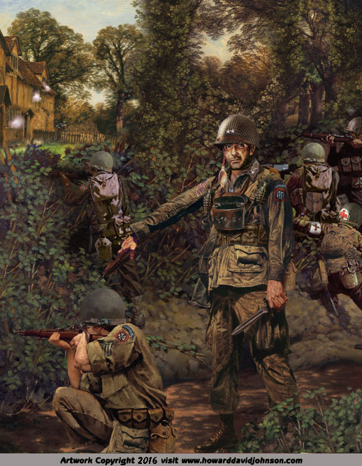 world war II 2 painting