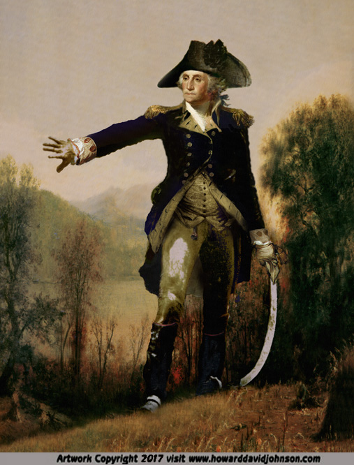 historical portrait of goarge washington