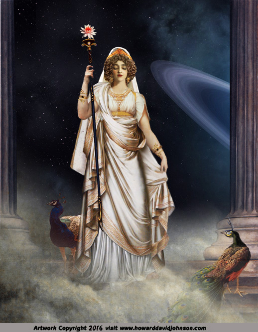 goddess art painting of greek godes