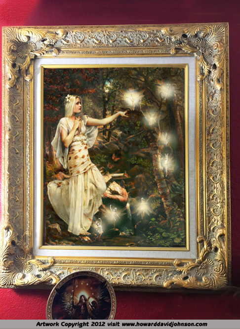 Fairy Painting for sale Old Master Traditional Method  Realism – realistic painting