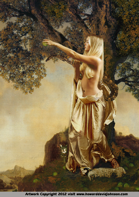 greek myth the golden apples fine art paintings of myth
