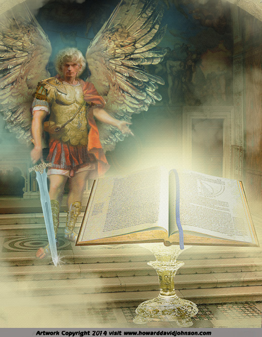 book life angel archangel throne room god revilations