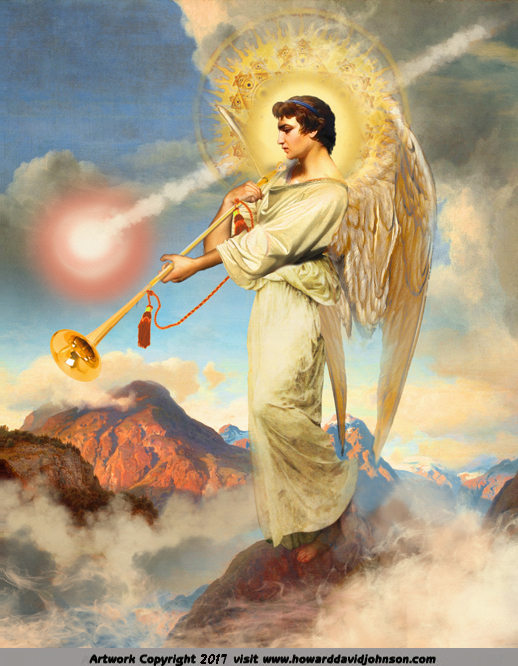 The Fifth TRUMPET heralds angel falling to Earth