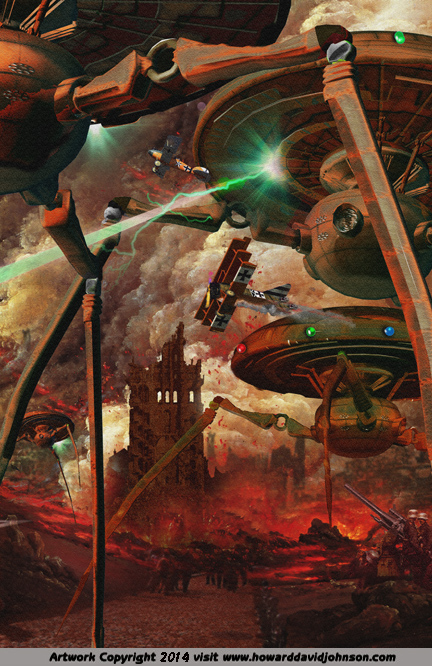 alien invasion war of the worlds art invasion picture