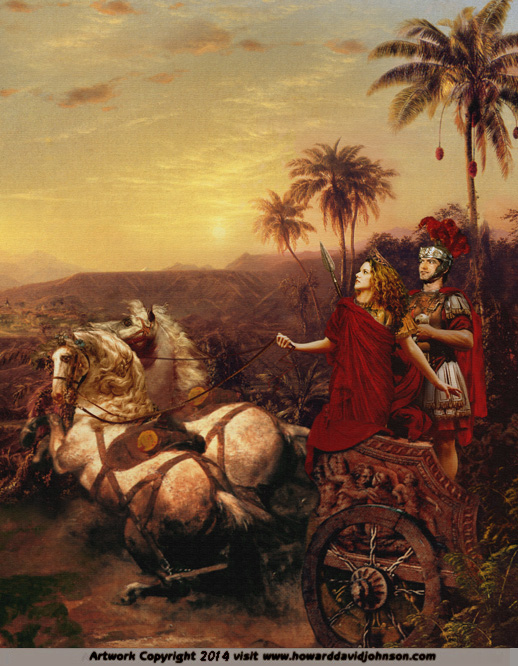 qween zenobia historical paintings fine art